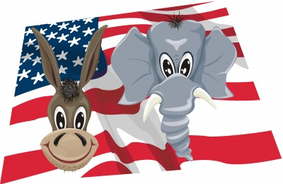 After 2012 Election Democrats and Republicans can work together. Image courtesy of 123rf.com